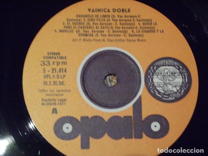 Discos de vinilo: VAINICA DOBLE-!!ORIGINAL!! SAME LP 1ST SPAIN PRESS OPALO- OPL-1/LP 1971 MEGA MONSTER - Foto 4 - 137153318