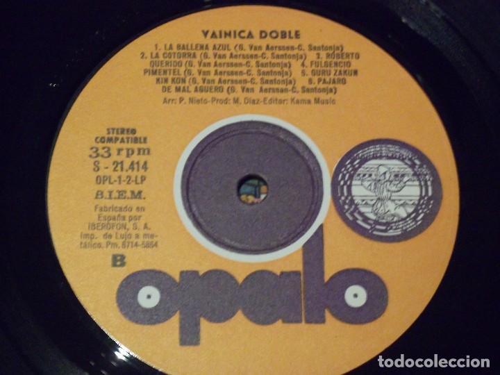 Discos de vinilo: VAINICA DOBLE-!!ORIGINAL!! SAME LP 1ST SPAIN PRESS OPALO- OPL-1/LP 1971 MEGA MONSTER - Foto 5 - 137153318