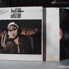 Discos de vinilo: MATIA BAZAR 10 GRANDES EXITOS LP SPAIN 1988 PDELUXE. Lote 137159394