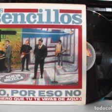 Discos de vinilo: LOS SENCILLOS NO, POR ESO NO MAXI SPAIN 1991 PDELUXE. Lote 137159638