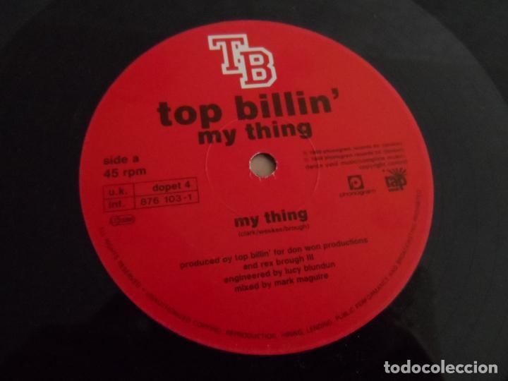 Discos de vinilo: Top Billin ?– My Thing - Foto 3 - 137183502
