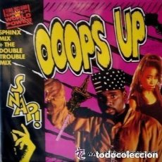 Discos de vinilo: SNAP, OOOPS UP (SPHINX MIX ) MAXI-SINGLE ARIOLA SPAIN 1990. Lote 137184598