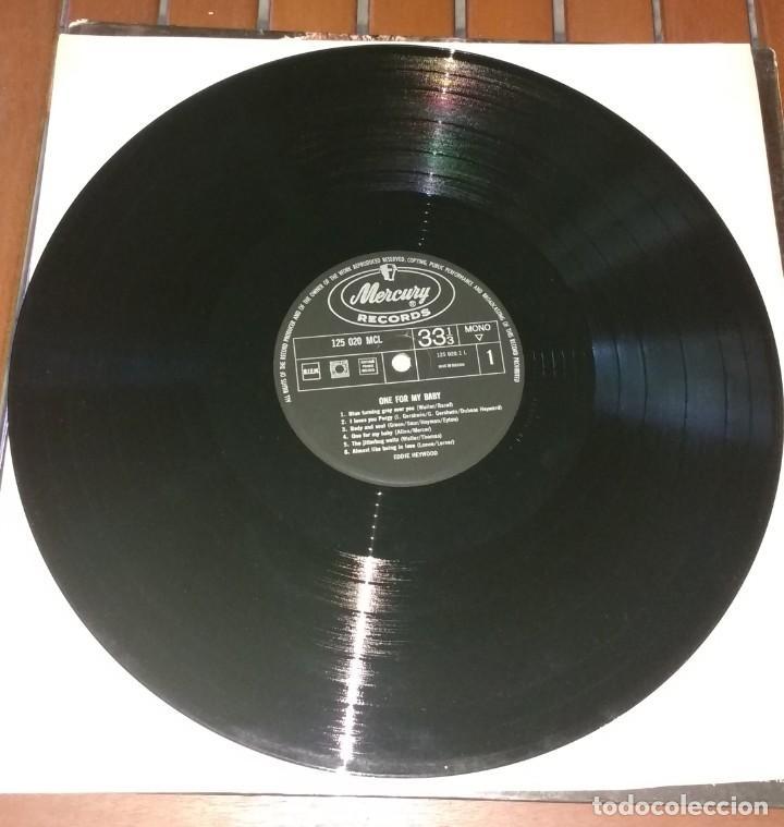Discos de vinilo: Eddie Heywood – One For My Baby. EDICION HOLANDESA - Foto 2 - 137185814