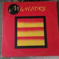 Discos de vinilo: MINISTRY – I'M FALLING. EDICION USA. Lote 137186554