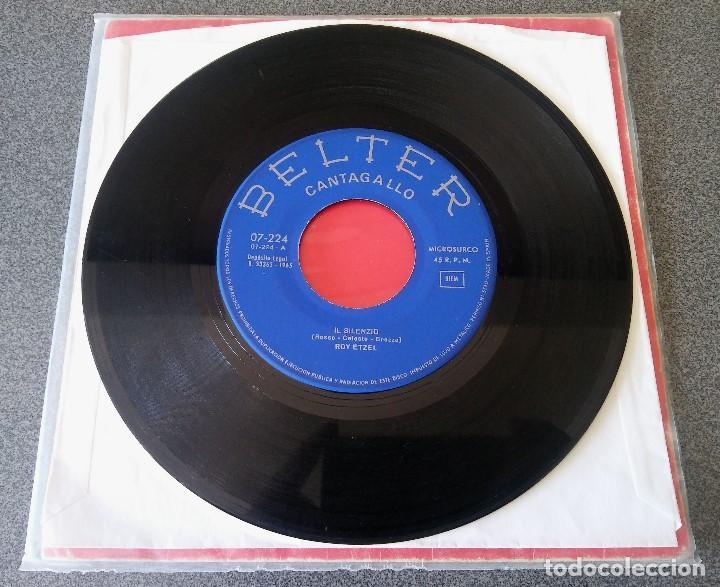 Discos de vinilo: Roy Etzel El Silencio - Foto 2 - 137189174