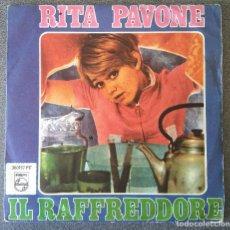 Discos de vinilo: RITA PAVONE IL RAFFREDDORE. Lote 137189862