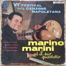 Discos de vinilo: MARINO MARINI ED IL SUO QUARTETTO EP EDIC ESPAÑA DURIUM MUY RARO. Lote 137191934