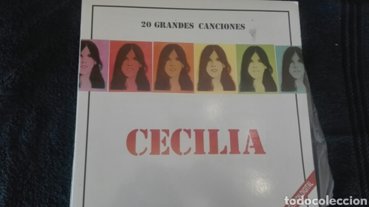 DOBLE DISCO VINILO CECILIA (Música - Discos - LP Vinilo - Solistas Españoles de los 70 a la actualidad)