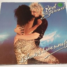 Discos de vinilo: ROD STEWART ( BLODES HAVE MORE FUN ) 1978 - SWEDEN LP33 WARNER BROS RECORDS. Lote 137203350