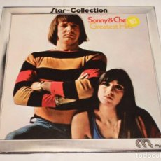 Discos de vinilo: SONNY & CHER ( THE BEST OF SONNY & CHER ) 1972 - GERMANY LP33 WEA MUSIK. Lote 137204574
