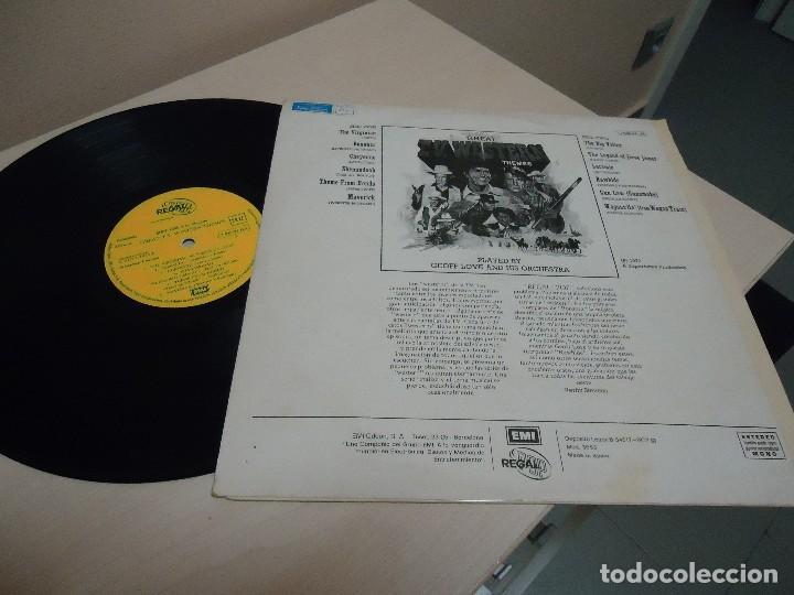 Discos de vinilo: GREAT TV .WESTERS N THEMES - BONANZA -EMI ODEON - GEOFF LOVE HIS ORCHESTRA-1972- SPAIN - Foto 2 - 137226498