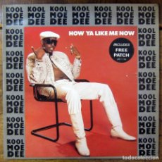 Discos de vinilo: KOOL MOE DEE - HOW YA LIKE ME NOW / DO YOU KNOW WHAT TIME IT IS? - 1987 - HIP HOP. RAP. Lote 137229414