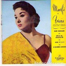 Discos de vinilo: DISCOS (MARIFE DE TRIANA). Lote 137257582