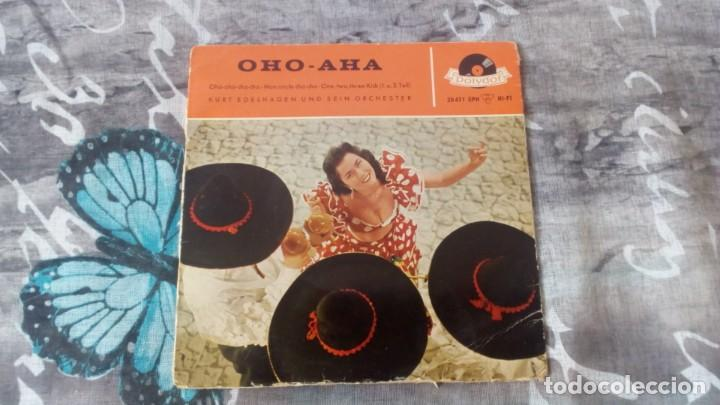 ORCHESTER KURT EDELHAGEN – OHO-AHA - POLYDOR – 20 471 EPH - 1959 (Música - Discos de Vinilo - EPs - Jazz, Jazz-Rock, Blues y R&B)