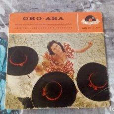 Discos de vinilo: ORCHESTER KURT EDELHAGEN – OHO-AHA - POLYDOR – 20 471 EPH - 1959. Lote 137258506