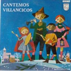 Discos de vinilo: CANTEMOS VILLANCICOS. CHIQUIRRITIN. COROS ESCUELAS AVEMARIANAS EP. Lote 137272254