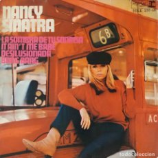 Discos de vinilo: NANCY SINATRA. DESILUSIONADA. EP ESPAÑA. SOLO PORTADA. Lote 137273102