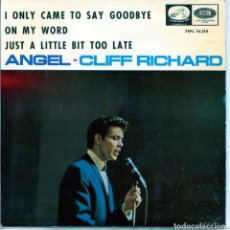 Disques de vinyle: CLIFF RICHARD / ANGEL + 3 (EP 1966). Lote 137277478