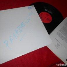 Discos de vinilo: PARABELLUM NO HAY OPCION LP 1986 DISCOS SUICIDAS PROMO + HOJA PROMO. Lote 137280570