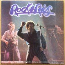 Discos de vinilo: MIGUEL RIOS ROCK&RIOS DOBLE DISCO EN DIRECTO EXCELENTE CONSERVACION. Lote 137296510