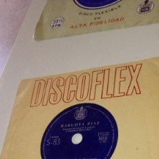Discos de vinilo: BAL-3 DISCO CHICO 7 PULGADAS LOTE DE 4 DISCOS DISCOFLEX LOS DE FOTO. Lote 137300950