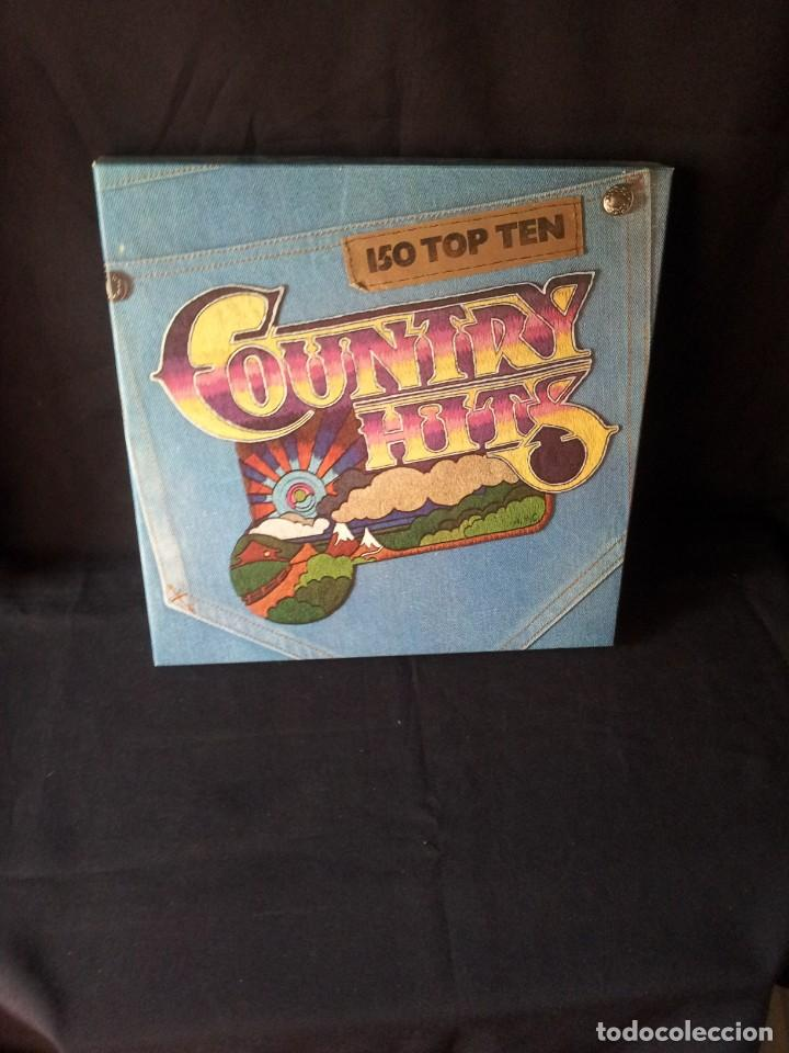 COUNTRY HITS - 150 TOP TEN 8 LPS - READER'S DIGEST 1981 (Música - Discos - LP Vinilo - Country y Folk)