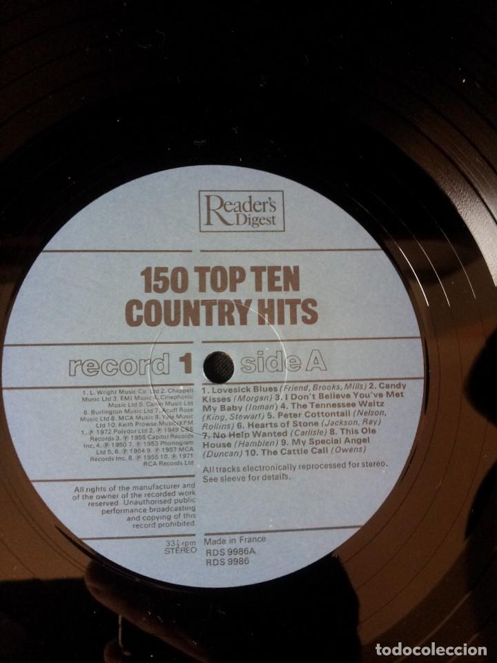 Discos de vinilo: COUNTRY HITS - 150 TOP TEN 8 LPS - READERS DIGEST 1981 - Foto 19 - 137303614