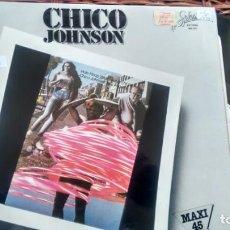 Discos de vinilo: MAXISINGLE (VINILO) DE CHICO JOHNSON AÑOS 80. Lote 137308718