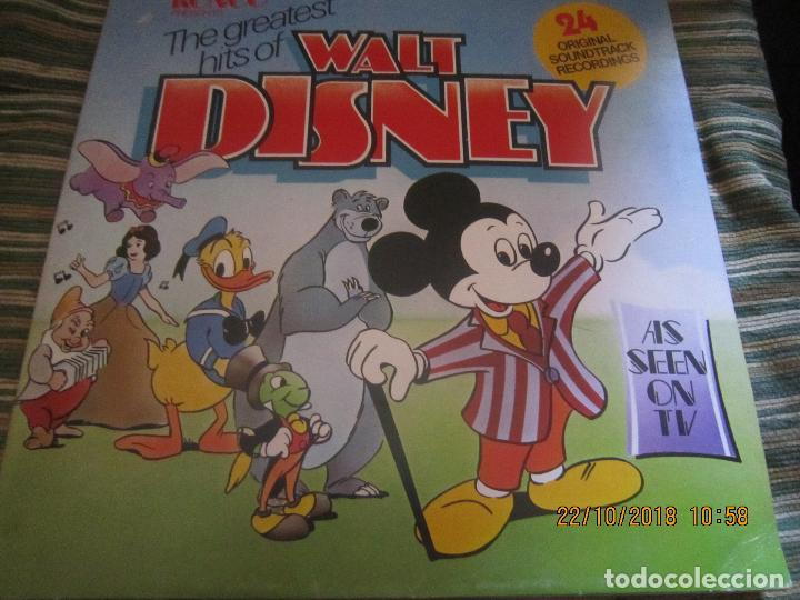 THE GREATEST HITS OF WALT DINEY LP - ORIGINAL INGLES - RONCO RECORDS 1975 - STEREO/MONO (Música - Discos - LPs Vinilo - Música Infantil)