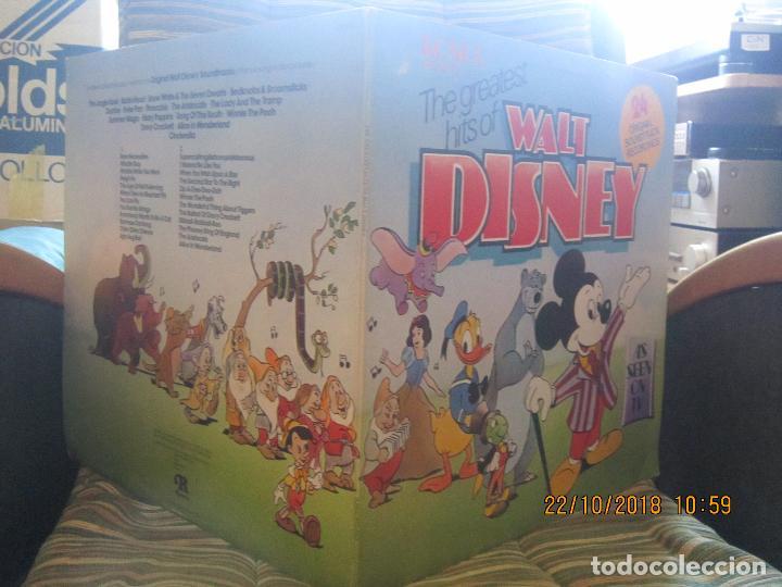 Discos de vinilo: THE GREATEST HITS OF WALT DINEY LP - ORIGINAL INGLES - RONCO RECORDS 1975 - STEREO/MONO - Foto 5 - 137328658