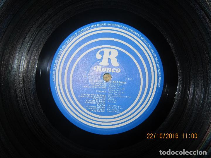 Discos de vinilo: THE GREATEST HITS OF WALT DINEY LP - ORIGINAL INGLES - RONCO RECORDS 1975 - STEREO/MONO - Foto 8 - 137328658