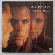Discos de vinilo: LP / GAZEBO ?– TELEPHONE MAMA / BABY RECORDS ?– BR 56061 / 1984 / ITALO-DISCO. Lote 177635133