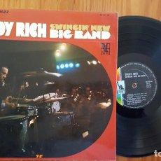 Discos de vinilo: RICH BAND BIG BUDDY - SWINGIN' NEW BIG BAND LIBERTY - FRANCE - HLIS 441-02. Lote 137332906
