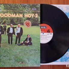 Discos de vinilo: BENNY GOODMAN HOY-1 -LP 1981 - EN PERFECTO ESTADO. Lote 137336798