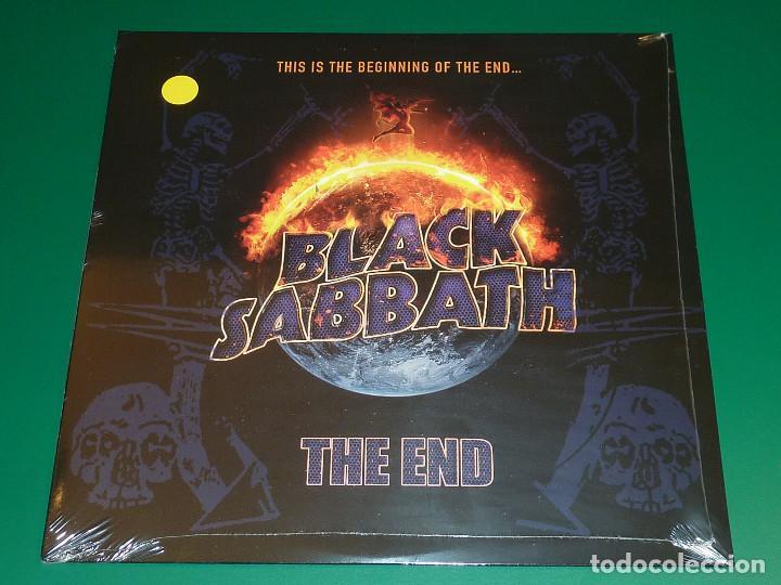 BLACK SABBATH THE END LP (Música - Discos - LP Vinilo - Heavy - Metal)