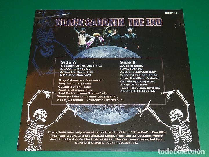 Discos de vinilo: BLACK SABBATH THE END LP - Foto 2 - 146025601