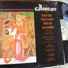 Discos de vinilo: CAMELOT -ORIGINAL MOTION PICTURE SOUND TRACK -LP USA. Lote 137350562