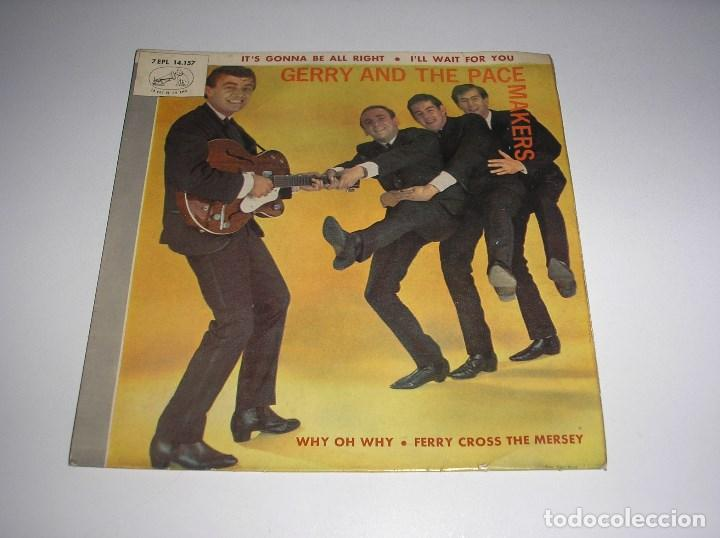 GERRY AND THE PACEMAKERS - EP ESPAÑOL (1965) IT´S GONNA BE ALL RIGHT + I´LL WAIT FOR YOU + 2 (Música - Discos de Vinilo - EPs - Pop - Rock Extranjero de los 50 y 60)