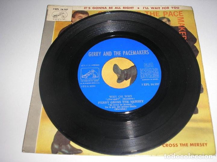 Discos de vinilo: GERRY AND THE PACEMAKERS - EP ESPAÑOL (1965) IT´S GONNA BE ALL RIGHT + I´LL WAIT FOR YOU + 2 - Foto 3 - 137352054