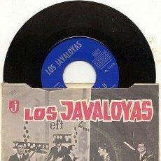 Discos de vinilo: LOS JAVALOYAS / AMOR ES MI CANCION / SINGLE 45 RPM // EDITADO POR EMI. Lote 137360990