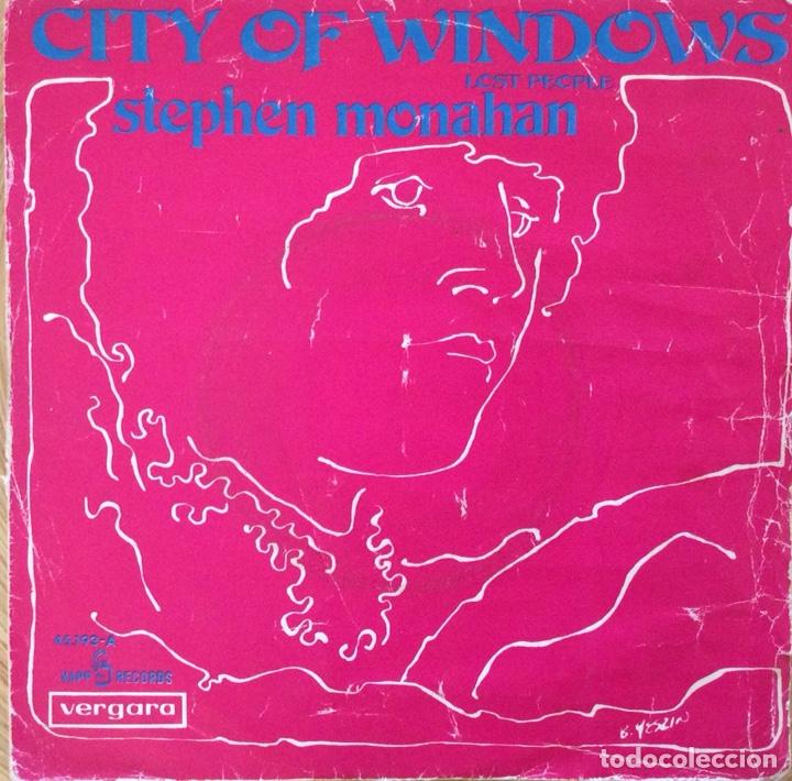 STEPHEN MONAHAN CITY OF WINDOWNS EDIC ESPAÑA KAPP AÑO 1967 (Música - Discos - Singles Vinilo - Pop - Rock Extranjero de los 50 y 60)