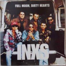 Discos de vinilo: INXS. FULL MOON, DIRTY HEARTS. LP ESPAÑA CON FUNDA INTERIOR CON LETRAS.. Lote 137382910