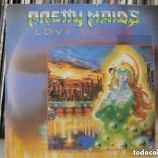 Discos de vinilo: PRETTY MAIDS - LOVE GAMES (SG) 1987. Lote 137388230