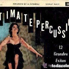 Discos de vinilo: STANLEY BLACK, SU PIANO Y SUS RITMOS LATINOS - PERCUSION EN LA INTIMIDAD - LP DECCA SPAIN 1963. Lote 137392026