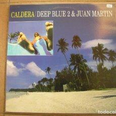 Discos de vinilo: BIT MUSIC DEEP BLUE 2 & JUAN MATIN – CALDERA - BIT MUSIC 2002 - MAXI - PLS. Lote 137393870