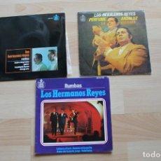 Discos de vinilo: LOTE 3 EP'S Y SINGLE LOS HERMANOS REYES. Lote 137407066