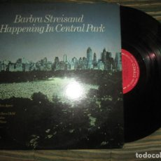 Discos de vinilo: BARBRA STREISAND - A HAPPENING IN CENTRAL PARK LP -ORIGINAL U.S.A. COLUMBIA 1968 - 360 SOUND STEREO. Lote 137410218