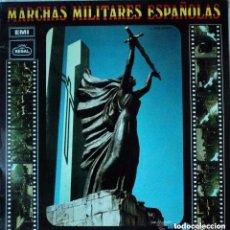 Discos de vinilo: MARCHAS MILITARES ESPAÑOLAS DE LA LEGION (LEGIONARIOS) - LP REGAL 1969. Lote 137418622