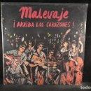 Discos de vinilo: MALEVAJE - ARRIBA LOS CORAZONES - LP. Lote 137421442
