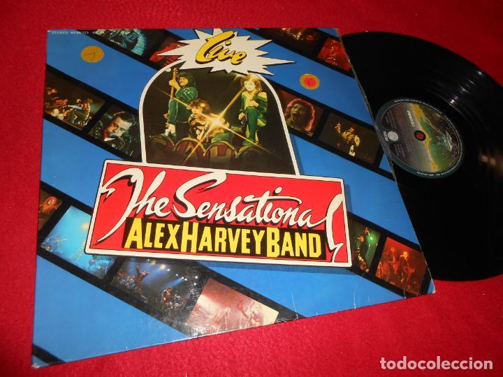 ALEX HARVEY BAND THE SENSATIONAL LIVE LP 1976 VERTIGO EDICION ESPAÑOLA SPAIN (Música - Discos - LP Vinilo - Pop - Rock - Internacional de los 70)